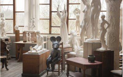 Kristalova på Carl Eldhs ateljémuseum
