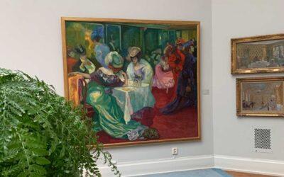 Axel Törneman på Thielska Galleriet